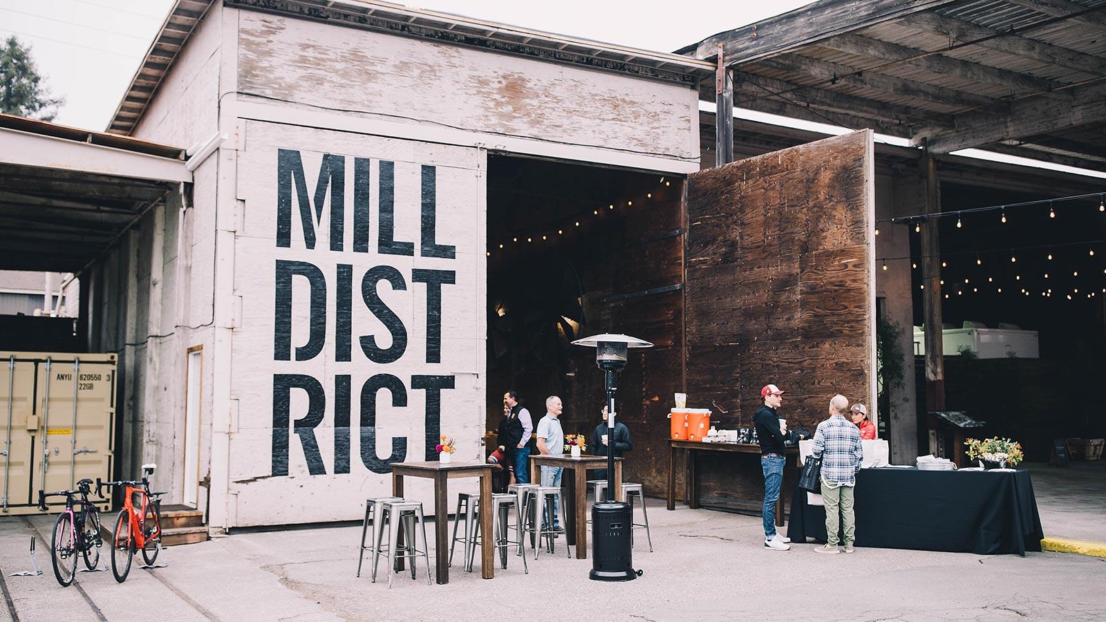 Mill District, Healdsburg